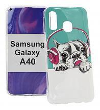 TPU Designcover Samsung Galaxy A40 (A405FN/DS)