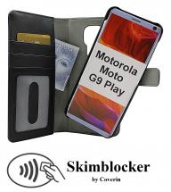 Skimblocker Magnet Wallet Motorola Moto G9 Play