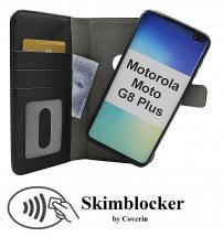 Skimblocker Magnet Wallet Motorola Moto G8 Plus