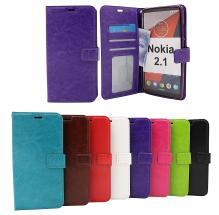 Crazy Horse Wallet Nokia 2.1