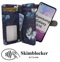 Skimblocker XL Magnet Designwallet Samsung Galaxy S10 (G973F)