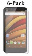 6-Pack Skærmbeskyttelse Motorola Moto X Force