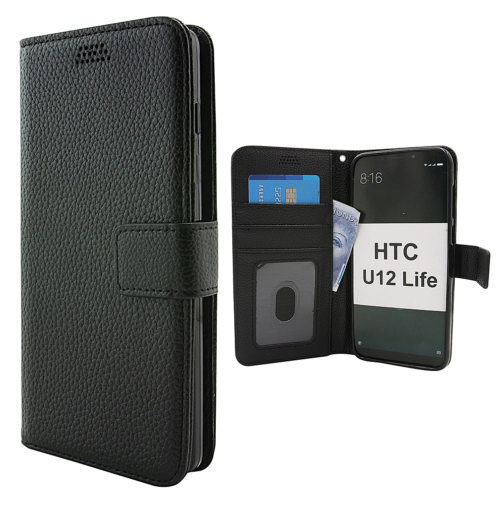 New Standcase Wallet HTC U12 Life