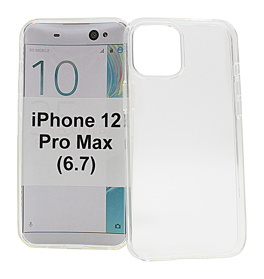 TPU Cover iPhone 12 Pro Max (6.7)